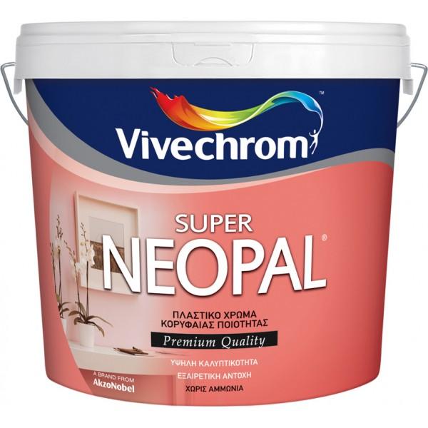 Super Neopal Πλαστικό Χρώμα Λευκό