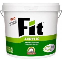 Fit Acrylic Ακρυλικό  Χρώμα Λευκό