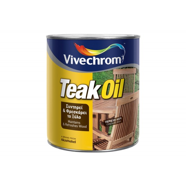 Teak Oil Λάδι Εμποτισμού & Συντήρησης με Κερί