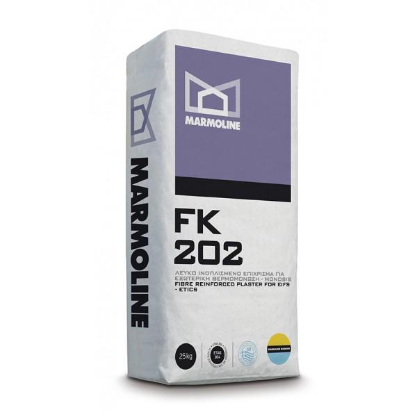 FK 202 Ινοπλισμένο Επίχρισμα Εξωτερικής Θερμοπρόσοψης