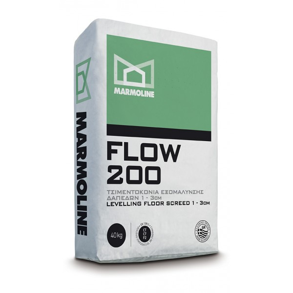 FLOW 200 Τσιμεντοκονία Εξαμόλυνσης Δαπέδων