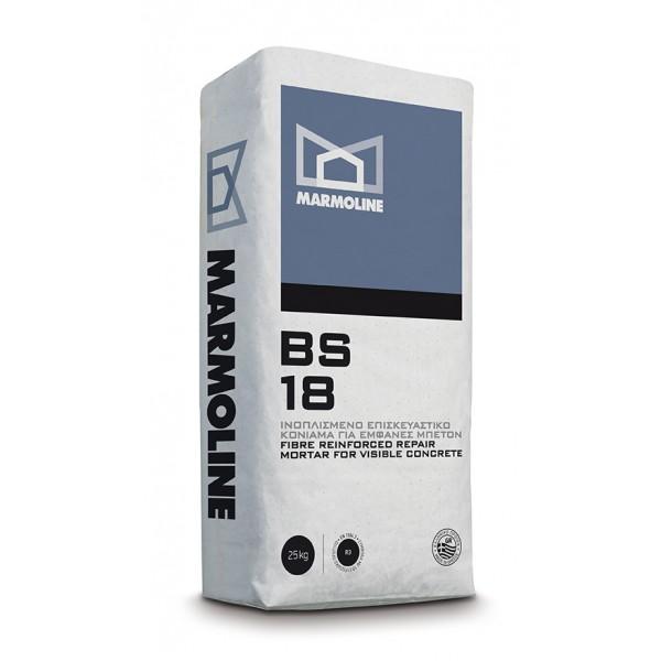 BS 18 Ινοπλισμένο Επισκευαστικό Κονίαμα