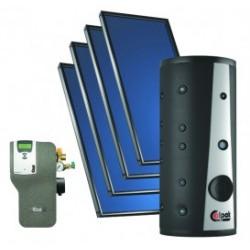 Ηλιακά Συστήματα VTS Vacuum με 4 Συλλέκτες