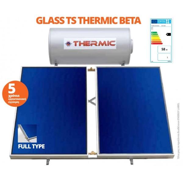 Glass TS Thermic Beta Ηλιακοί Θερμοσίφωνες