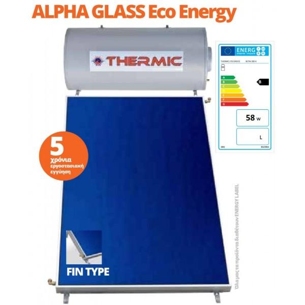 Alpha TS INOX  Eco Energy Ηλιακοί Θερμοσίφωνες
